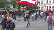 Austria: Thousands of COVID-sceptics march in Vienna