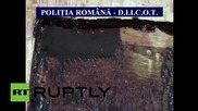 Romania: 70 kilos of 'black cocaine' seized