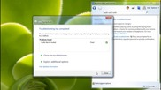 Solving common problems with Troubleshooters (windows 7)