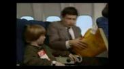 Mr Bean On Plane , Rides Again