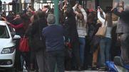 Argentina: Protestors mass outside Kirchner v. Stolbizer mediation