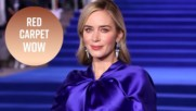 J.Lo, Margot Robbie & Emily Blunt's showstopping gowns
