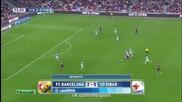 Барса , се поизпоти, но изкова 3:0 Лео заби гол №250! 18.10.2014 Барселона - Ейбар 3:0