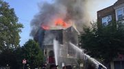 USA: Historic Church goes up in flames in West Philadelphia