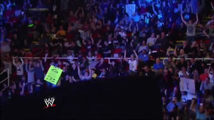 Smackdown opens with a Batista, Daniel Bryan, Kane and Big Show melee Smackdown (07.03.14)