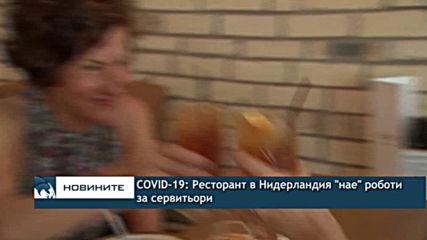 "COVID-19: Ресторант в Нидерландия ""нае"" роботи за сервитьори"