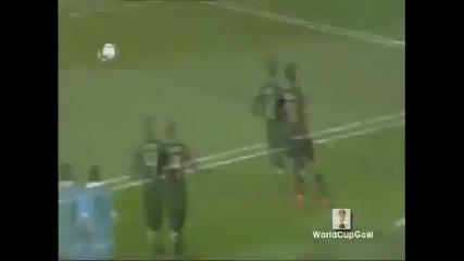 World Cup Uruguay - Germany 2:3 - Гол на Форлан