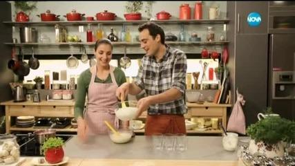 Шведски крем и пилешка супа с жасминов чай и соба - Бон Апети (11.05.2015)