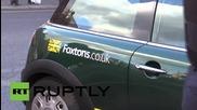 UK: Activists storm upmarket Foxtons estate agents