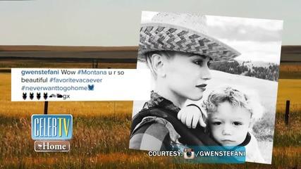 See Gwen Stefani's Montana Getaway!