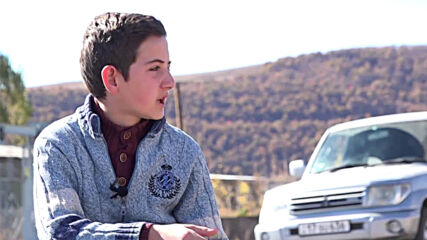 Armenia: 14-year-old who evacuated family in midst of Nagorno-Karabakh clashes recounts journey
