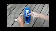 Супер бърз начин да си завържете обувките