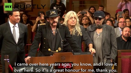 Motörhead honoured for their 'great music' by LA City Council