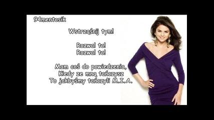 Selena Gomez - Shake It Up tlumaczenie pl