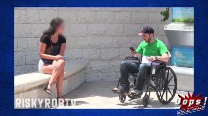 Ще помогнеш ли на човек в инвалидна количка?