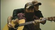 Лейди Гага - Кънтри вариант-на четири ръце с китара