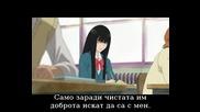 Kimi ni Todoke Епизод 4 bg sub