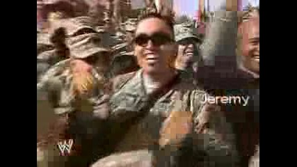 Tribute To The Troops Divas Match