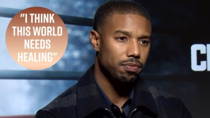 Michael B. Jordan on why he'll always give back to less fortunate