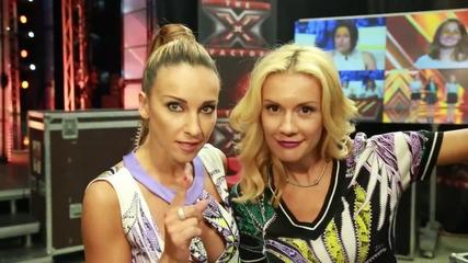 Алекс и Мария за гафовете, сълзите и талантите в X Factor