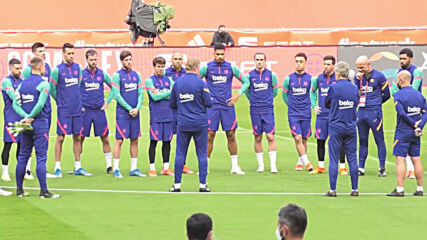 Spain: 'I'm at Barcelona and we have to win' - Koeman speaks of his future ahead of Copa del Rey final
