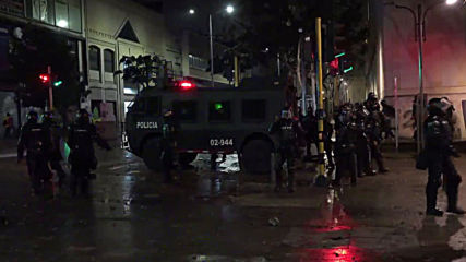 Colombia: Violence erupts as anti-govt protests return to Bogota