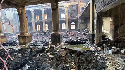 South Africa: Wildfire leaves Cape Town university's historic library gutted