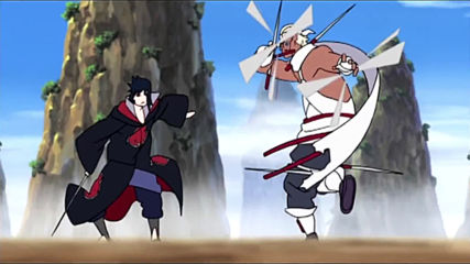 Sasuke vs Killer Bee [amv] - Impossible