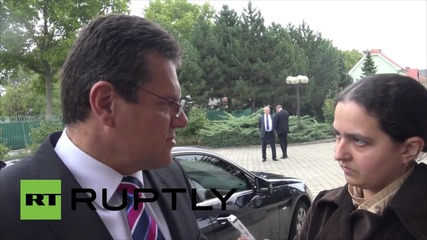 Austria: EC Vice President Sefcovic hopes trilateral gas agreement with Ukraine & Russia signed soon