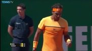 Monte Carlo 2016 - Nadal Hits a Perfect Pass
