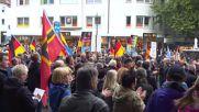 Germany: AfD hold anti-Merkel rally in Padeborn