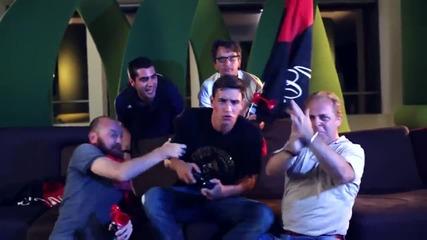 Де Шильо, Игуаин, Дестро в реклама на Fifa 15