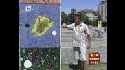 Големи цветни кубове се търкалят в центъра на Враца