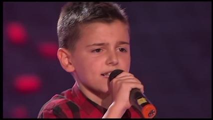 Талантливото момче на име Марко Бошник разплака членовете на журито с песента: One night only