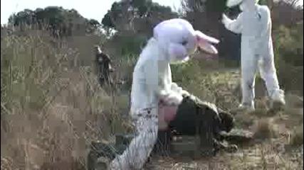 Заек срещу Ловец