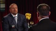 Triple H discusses the return of Brock Lesnar