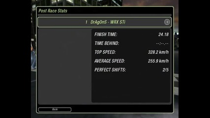 Need For Speed Underground 2 - The Best But not so Best... :d