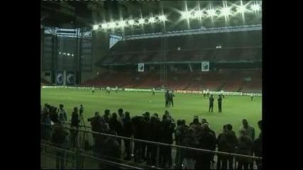 Преди осминафинала в Шампионската лига между