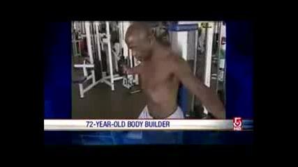 72 - Годишен Мъж Със Тяло На 20 - Годишен