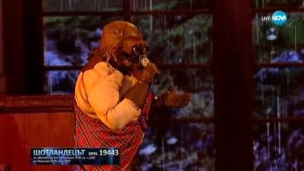 Шотландецът изпълнява Soli на Adriano Celentano | Маскираният певец