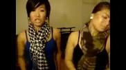 Две симпатични момичета пеят Halo на Beyonce