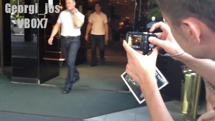 Лейди Гага напуска хотела си в София