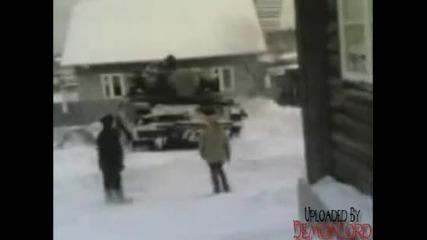 Пиян руснак кара Сау