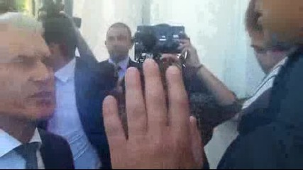 Сидеров налетя на бой на Скат-аджия и полицай (видео)