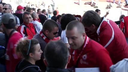 Мишел Платини ще гледа Левски - ЦСКА