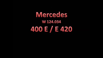 Mercedes 400e 0-200 0-100 Vmax
