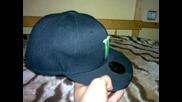 Моята Monster Energy шапка с права козирка