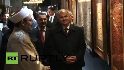 Turkey: First Quran reading at Istanbul's Haiga Sophia in 85 years