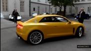 700hp Audi Sport Quattro Concept - На пътя