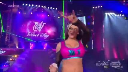 Velvet Sky vs Tara - Knockouts Championship